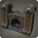Deluxe Manor Fireplace