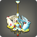Carbuncle Chandelier