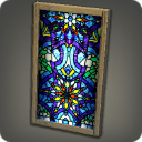Imitation Stained Crystal Pane