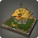 Chocobo Cottage Wall