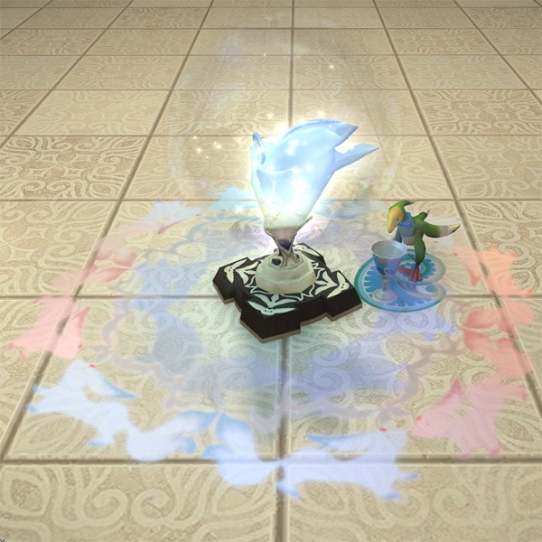 Emerald Carbuncle Lamp