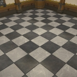 Monochrome Flooring