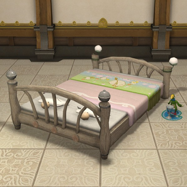 Merry Mog Bed Ffxiv Housing Chairbed