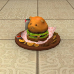 Giant Beaver Burger Set