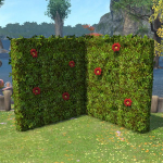 Corner Hedge Partition