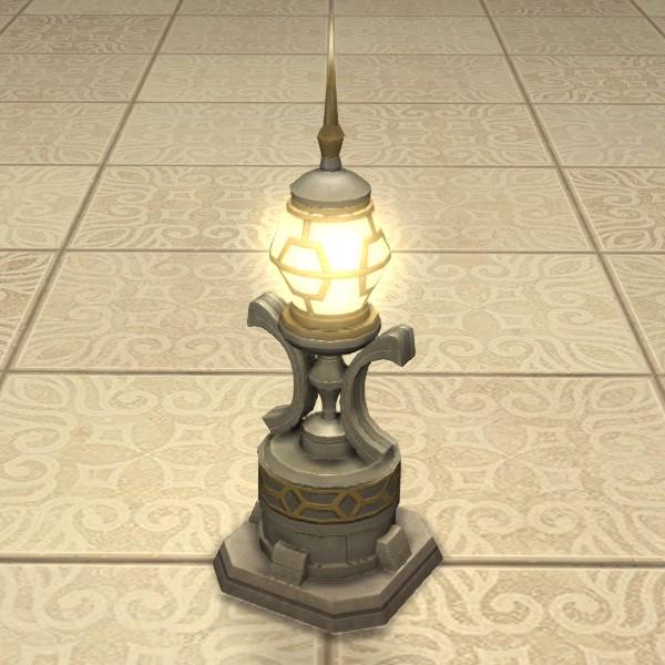 Egg Floor Lamp FFXIV Housing - Furnishing