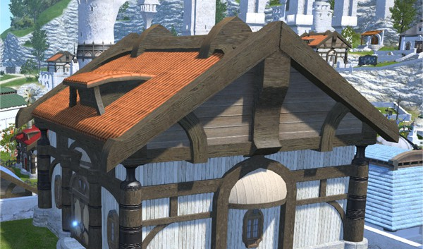 Riviera Cottage Roof (Wood)