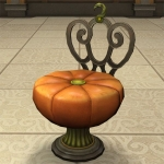 Pumpkin Chair