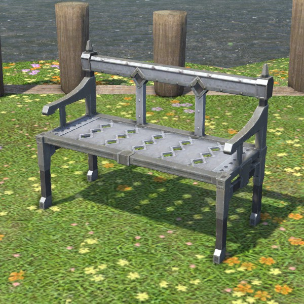 Pleasing Carbuncle Garden Bench Ffxiv Housing Outdoor Furnishing Pdpeps Interior Chair Design Pdpepsorg