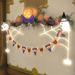 Pumpkin Party Pennants
