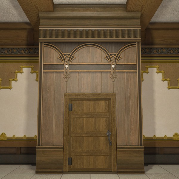 Glade Partition Door Ffxiv Housing Furnishing