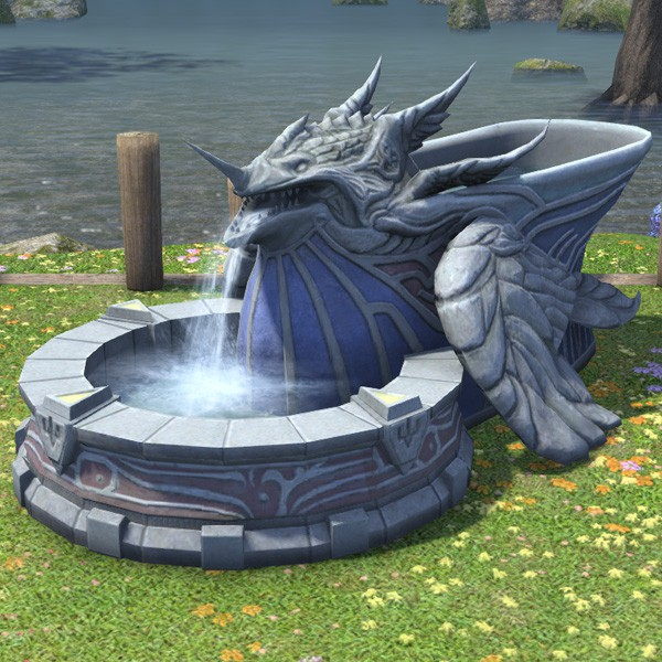 Expanse Fountain Ffxiv Housing Outdoor Furnishing