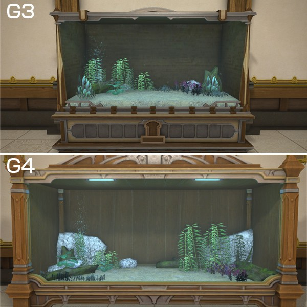 Brooklet Tank Trimmings Ffxiv Housing Aquarium