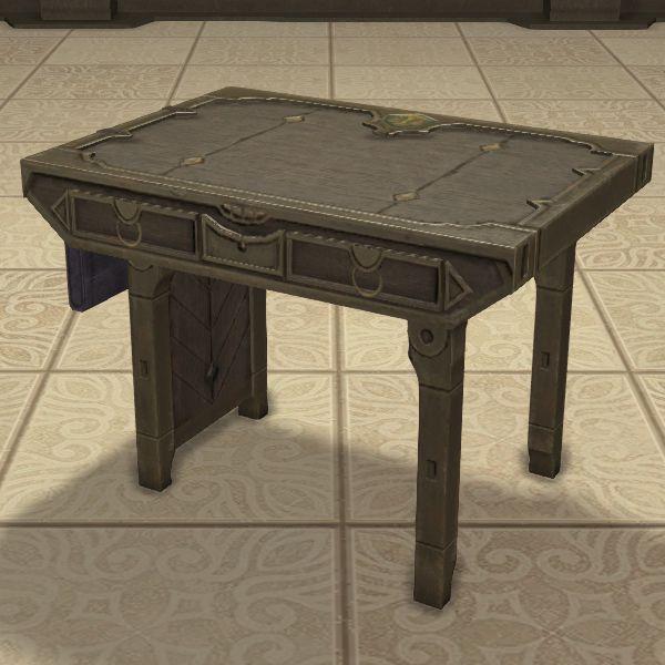 Flame Desk Ffxiv Housing Table