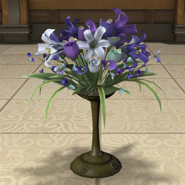 Sumptuous Dimension Castle Vase