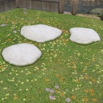 Curved Stepping Stones