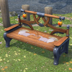 Super Carbuncle Garden Bench Ffxiv Housing Outdoor Furnishing Pdpeps Interior Chair Design Pdpepsorg