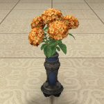 Orange Hydrangeas