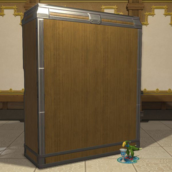 Ash Cabinet FFXIV Housing - Table