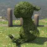 Topiary Chocobo