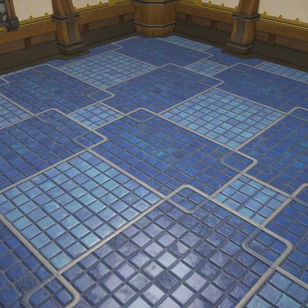 Tiled Flooring Ffxiv Housing Interior