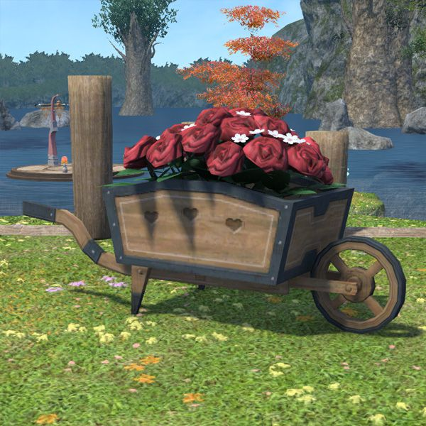 Rose Wagon