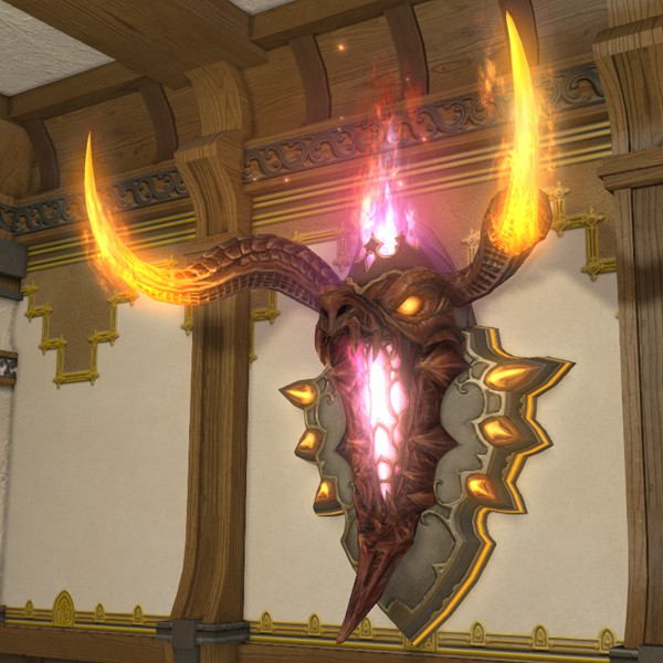 Blazing Inferno Wall Lamp