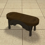 Manor Music Stool