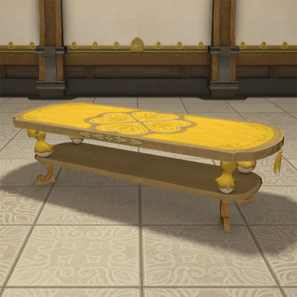 Chocobo Dining Table