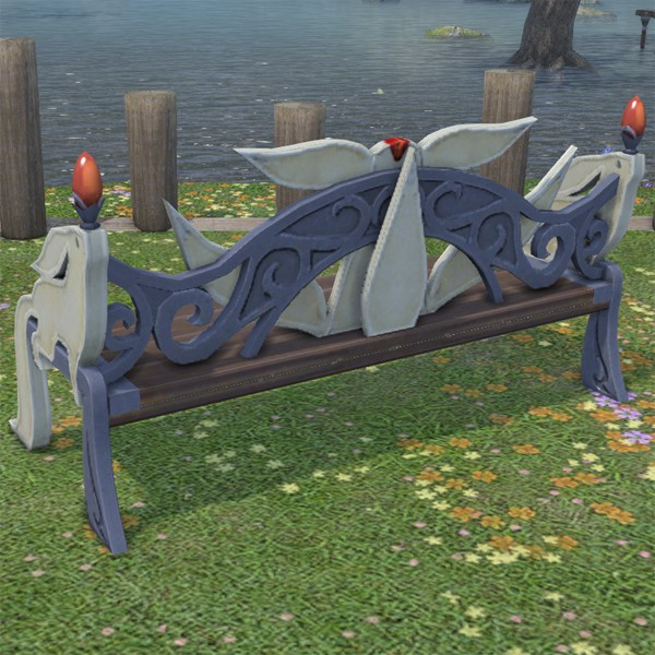 Carbuncle Garden Bench