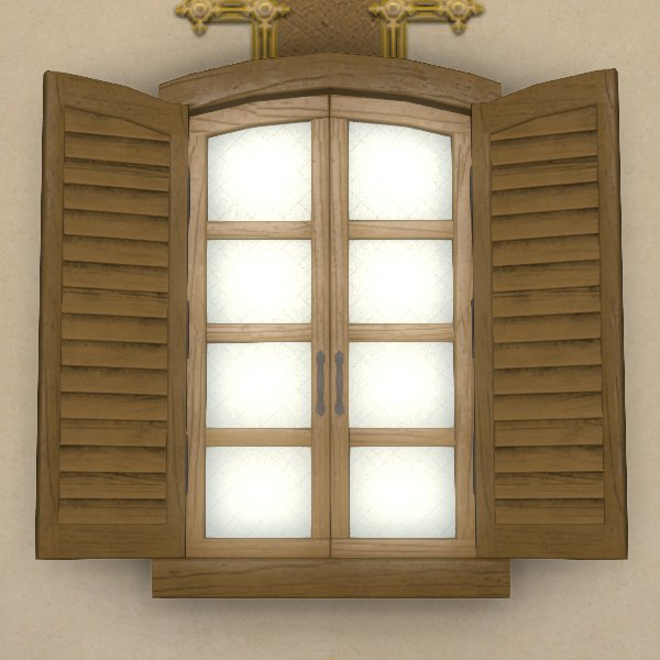 Imitation Shuttered Window