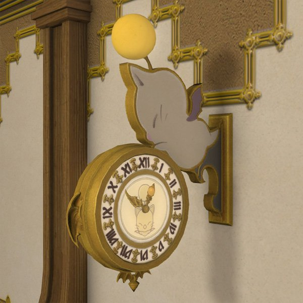 Moogle Wall Chronometer