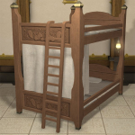 Mahogany Bunk Bed