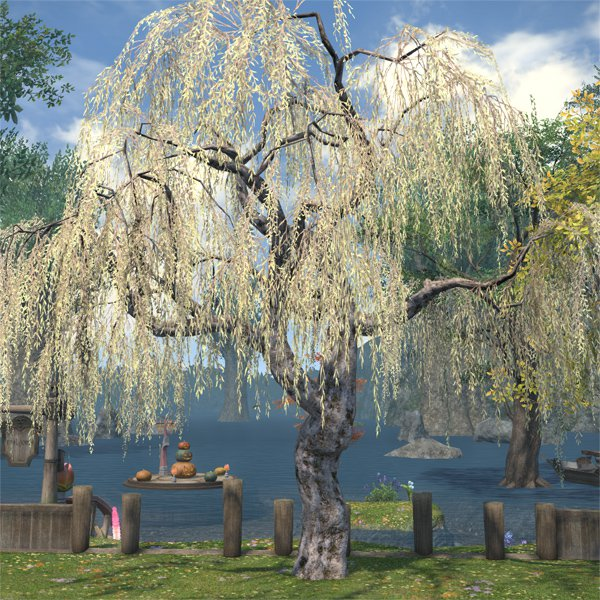 Far Eastern Willow Ffxiv Housing Outdoor Furnishing