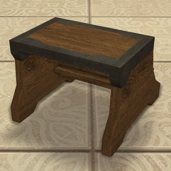 Lalafellin Step Stool Ffxiv Housing Furnishing