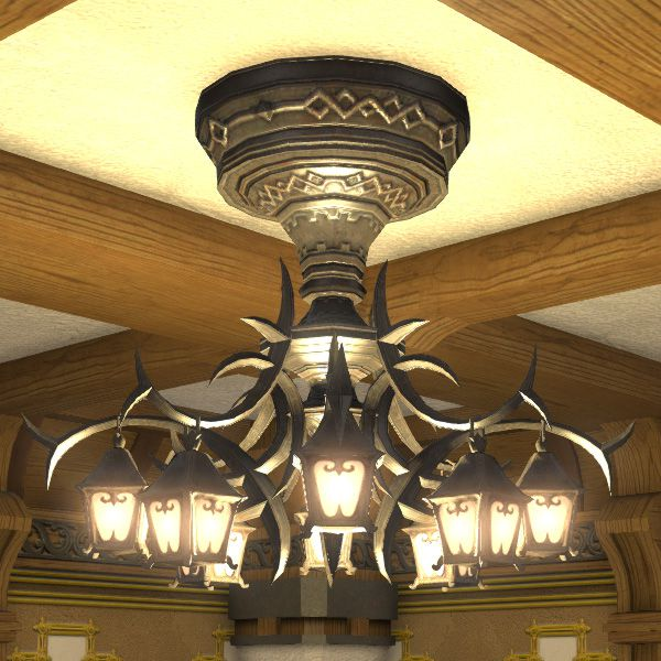 Classic chandelier ffxiv housing interior classic chandelier aloadofball Images