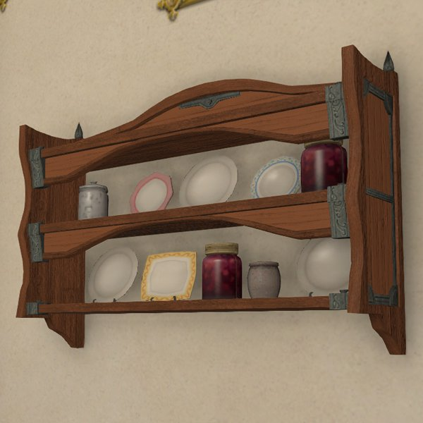 Mounted Plate Rack
