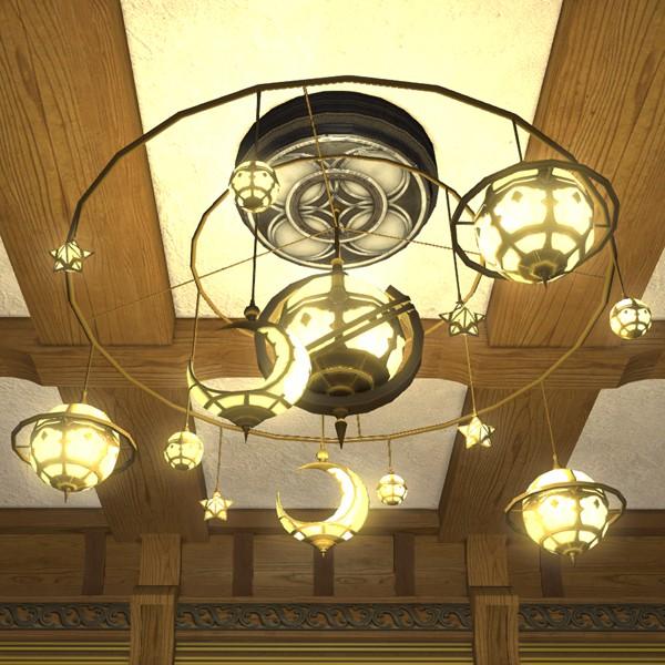 Star Chandelier Ffxiv Housing Interior