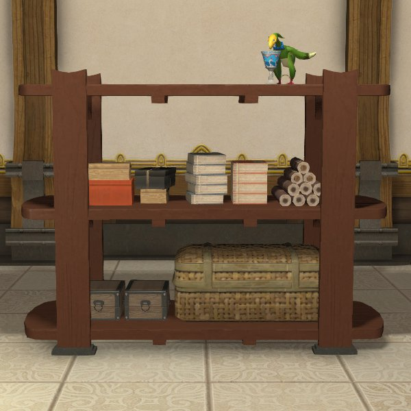 Hingan Open Shelf Bookcase