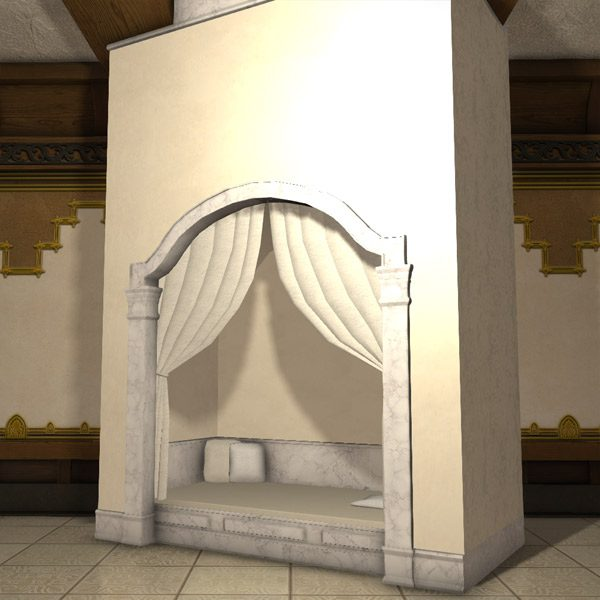 Marble Alcove Bed