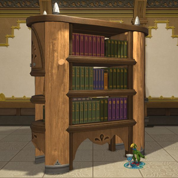 Glade Bookshelf FFXIV Housing