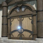 Riviera Wooden Door