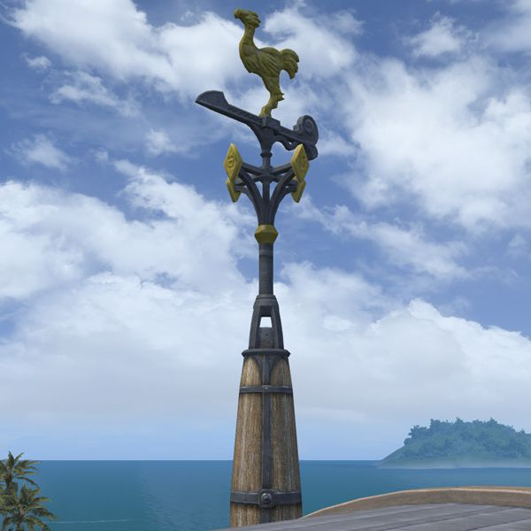Chocobo Weathervane