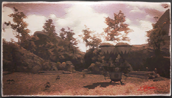 Ixali Logging Grounds Painting