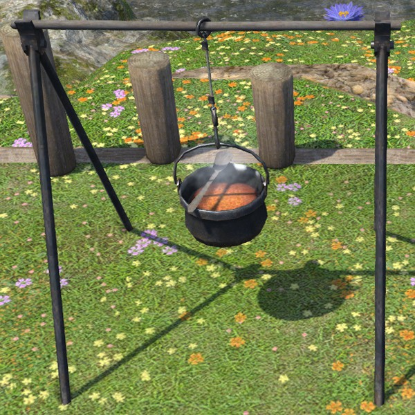Cast-iron Cookpot